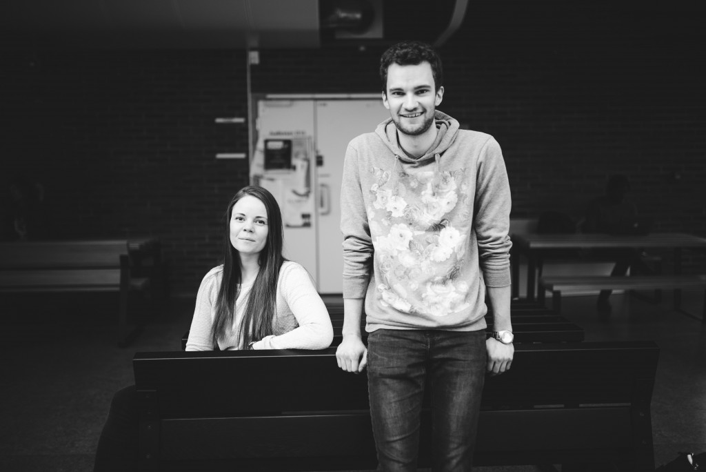 Lederne av Psykologidagen 2017, Silje Helen Sørhøy og Steffen André Fagerbakk
