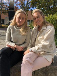 Mari Elise og Kristina